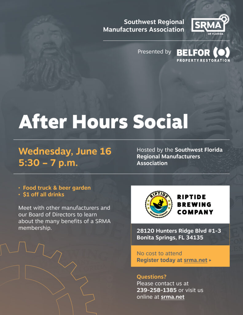 June 16, 2021 After Hours Social at RipTide Brewing sponsored by Belfor